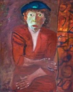 portrait of gay hawkes 2001