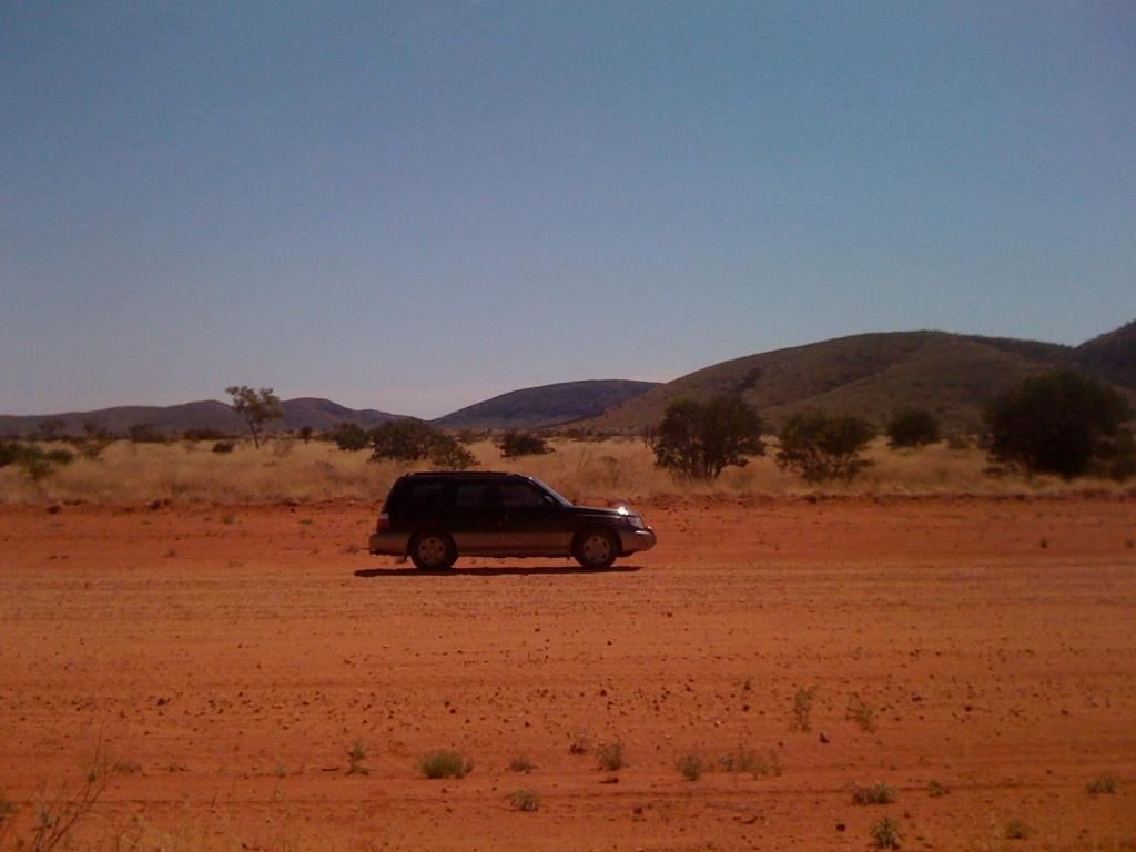 My trusty Subaru