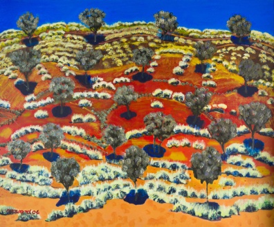 Cypress Grove with Spinifex 2006